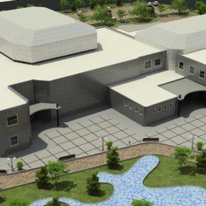 پروژه ی دانشجویی معماری فرهنگسرا