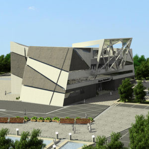 پروژه دانشجویی معماری سازمان نظام مهندسی