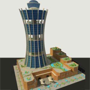 پروژه دانشجویی برج مسکونی