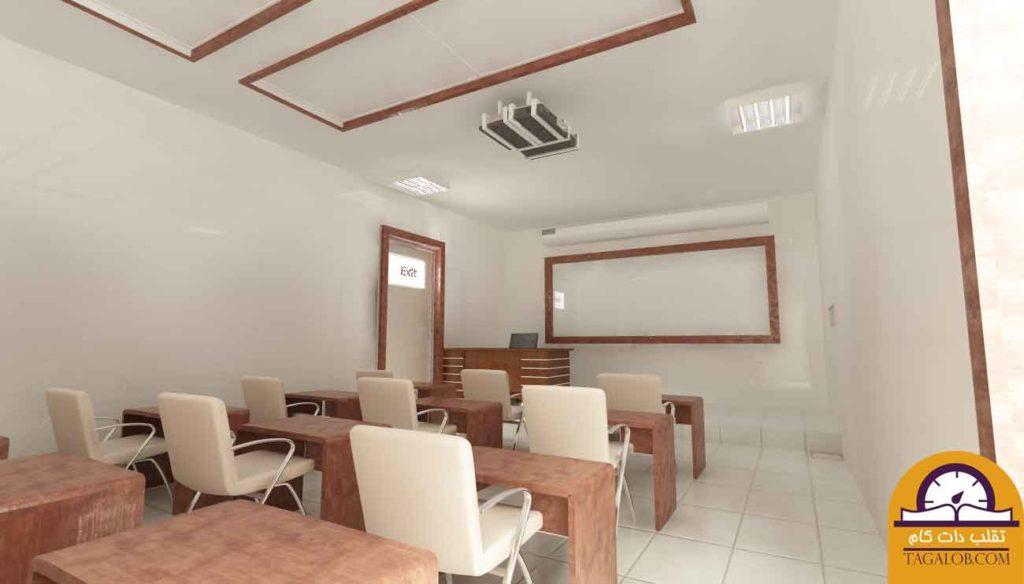 پروژه دانشجویی معماری مدل کلاس 01