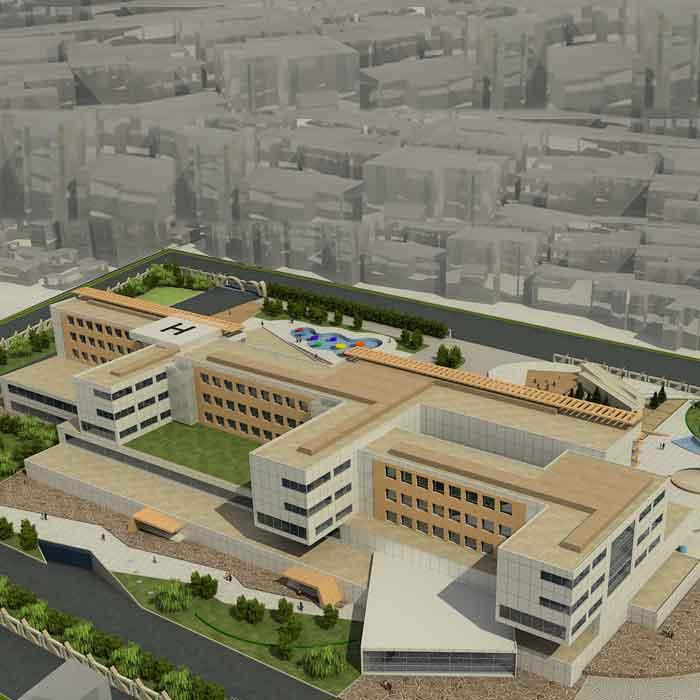 پروژه دانشجویی بیمارستان کودکان