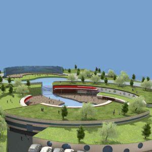 پروژه دانشجویی نمایشگاه بام سبز