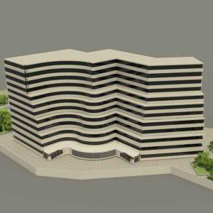 پروژه دانشجویی ساختمان مسکونی