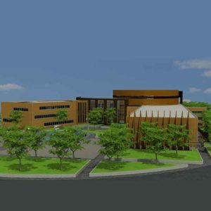 پروژه دانشجویی معماری دانشکده