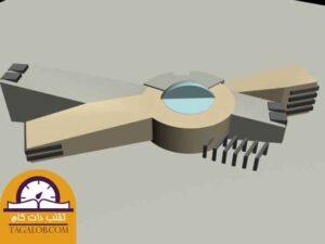 پروژه دانشجویی معماری فرهنگسرا رواق 03