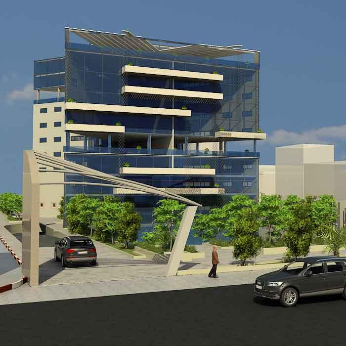 پروژه دانشجویی دانشکده معماری
