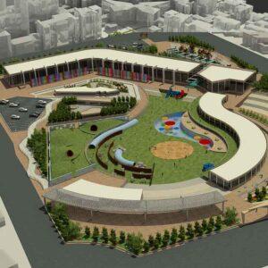 پروژه دانشجویی معماری باغ موزه کودکان