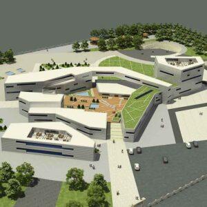 پروژه دانشجویی مرکز پژوهش هنر و معماری