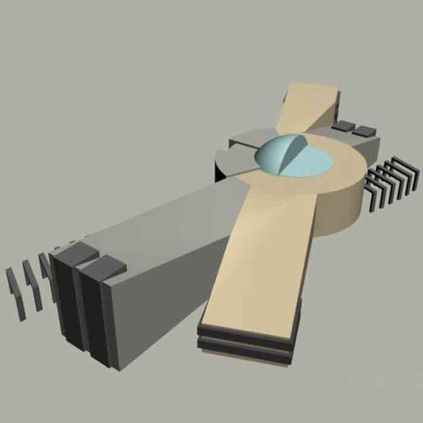 پروژه دانشجویی معماری فرهنگسرا رواق