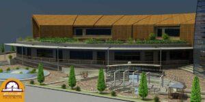 پروژه دانشجویی موزه پلان قوسی 02