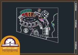 پروژه دانشجویی موزه پلان قوسی 01