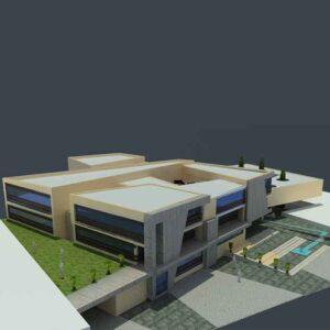 پروژه دانشجویی معماری کلینیک