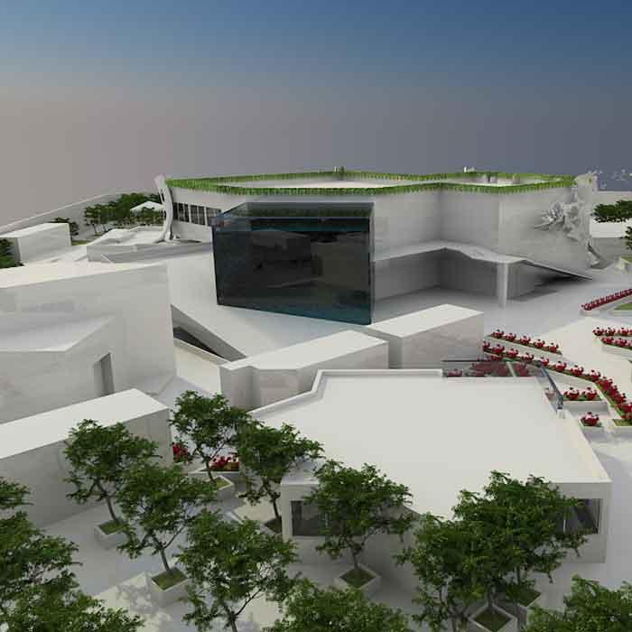 پروژه دانشجویی پارک موزه محیط زیست