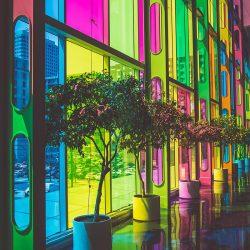 نفش رنگ در معماری